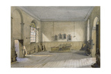 The Chapel in Queen's Bench Prison, Borough High Street, Southwark, London, 1879 Impressão giclée por John Crowther
