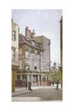 View of the Crooked Billet Inn, King Street, Stepney, London, 1886 Impressão giclée por John Crowther