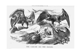 The Carcase and the Eagles, 1871 Giclee Print by Joseph Swain