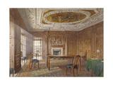Interior View of the Oak Room, New River Head, Finsbury, London, 1886 Impressão giclée por John Crowther