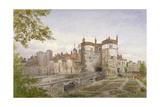 Tower of London, Stepney, London, 1883 Impressão giclée por John Crowther