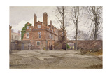 The South End of Fairfax House, High Street, Putney, London, C1887 Impressão giclée por John Crowther