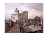 Tower of London, London, 1883 Impressão giclée por John Crowther