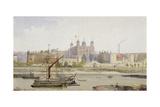 Tower of London, Stepney, London, C1883 Impressão giclée por John Crowther