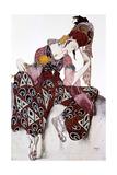 Iskander, Costume Design for the Ballet La Peri, C1913 Reproduction procédé giclée par Leon Bakst