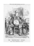 The Irrepressible Tourist, 1885 Giclee Print by Joseph Swain