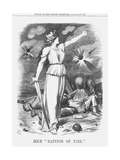 Her Baptism of Fire, 1871 Giclee Print by Joseph Swain