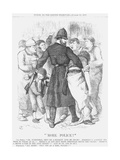 More Police!, 1877 Giclee Print by Joseph Swain