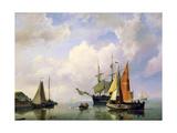 A Sea Landscape, Mid 19th Century Giclee Print by Marinus Adrianus Koekkoek