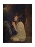 The Infant Samuel, C1776 Giclee-trykk av Joshua Reynolds