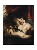 Cupid Untying the Zone of Venus, 1788 Giclee-trykk av Joshua Reynolds