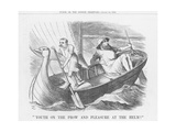 Youth on the Prow and Pleasure at the Helm!, 1886 Giclee Print by Joseph Swain