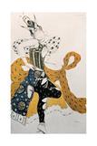 Peri (Natasha Trouhanov), Costume Design for La Peri, 1911 Reproduction procédé giclée par Leon Bakst