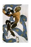 The Faun (Nijinsk), Costume Design for the Ballets Russes, 1912 Impressão giclée por Leon Bakst