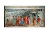 The Tribute Money, 1425 Giclee-trykk av Masaccio Tommaso