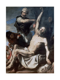 Martyrdom of St Bartholomew, 1644 Giclee Print by Jusepe de Ribera