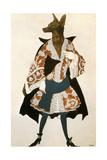 The Sleeping Beauty Wolf, 1921 Giclée-vedos tekijänä Leon Bakst
