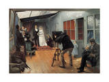 Wedding at the Photographer'S, 1878-1879 Giclee Print by Pascal Adolphe Jean Dagnan-Bouveret