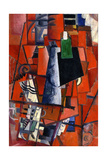 A Woman at the Piano, 1913 Giclée-tryk af Kazimir Malevich