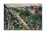 Berlin, Unter Den Linden, 1922 Gicléetryck av Lovis Corinth