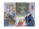 Christmas, C1881-1927 Gicléetryck av Jozsef Rippl-Ronai