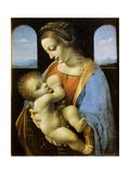 The Litta Madonna, 1490 Lámina giclée por  Leonardo da Vinci