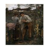 Rural Love, 1882 Giclée-vedos tekijänä Jules Bastien-Lepage