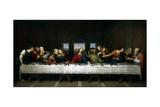 The Last Supper, 1803 Giclée-vedos tekijänä Michael Kock