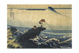 Kojikisawa in the Kai Province, Between 1827 and 1830 Impressão giclée por Katsushika Hokusai