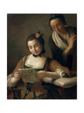 Reading, C1727-1760 Giclee Print by Pietro Rotari