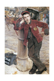 The London Bootblack, 1882 Giclee Print by Jules Bastien-Lepage