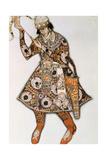 Costume Design for a Ballet by Igor Stravinsky, 1913 Giclee Print by Leon Bakst