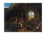 Tavern Scene, C1640-1665 Giclee Print by Philips Wouwerman