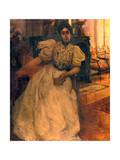 Madeline Gide, 1897 Gicléetryck av Paul Albert Laurens