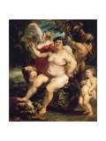 Bacchus, 1638-1640 Giclee Print by Peter Paul Rubens