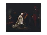The Execution of Lady Jane Grey, 1834 Reproduction procédé giclée par Paul Delaroche