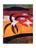 Pastorales Tahitiennes' (Detail), 1892 Reproduction procédé giclée par Paul Gauguin