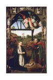 Nativity, 1452 Lámina giclée por Petrus Christus