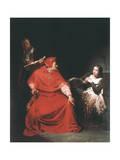 Joan of Arc in Prison, 1825 Reproduction procédé giclée par Paul Delaroche