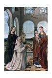 Madonna and Child, 15th Century ジクレープリント : ペトルス・クリストゥス