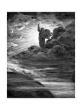 God Creating Light, 1866 Giclee-trykk av Gustave Doré