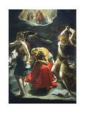 St Jerome's Dream, C1600 Lámina giclée por Orazio Borgianni