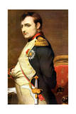 Napoleon Bonaparte, French General and Emperor Lámina giclée por Paul Delaroche