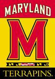 NCAA Maryland Terrapins 2-Sided House Banner Flag