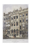 Fleet Street, London, 1861 Giclee Print by Robert Dudley