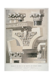 Architectural Details, Fleet Street, City of London, 1861 Giclee Print by Robert Dudley