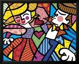 Swing Prints by Romero Britto