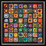 Color of Squares Prints by Wassily Kandinsky