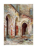 The Church of Sermaize, 1914 Giclée-Druck von Pierre Vignal