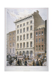 New Buildings in Cheapside (Nos 107 and 10), City of London, 1860 Lámina giclée por Robert Dudley